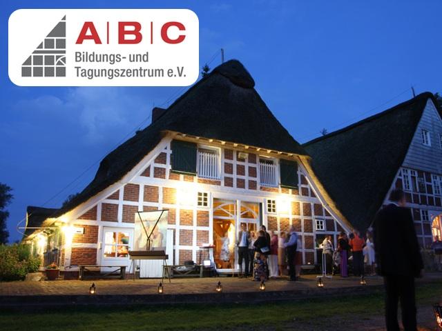 Das ABC Bildungs- und Tagungszentrum e.V. in Drochtersen-Hüll –manchmal auch spät abends noch sehr belebt