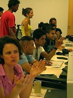 Ein Schwerpunkt der Arbeit des ABC Bildungs- und Tagungszentrum e.V. ist die politische Bildungsarbeit mit neuen Medien