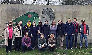Die Mitglieder der Kommission Europäische und Internationale Bildungsarbeit