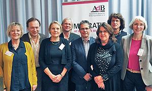 AdB-Vorstand am 26.11.2014 mit neuer Besetzung