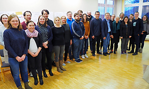 Die Mitglieder der AdB-Fachkommission Europäische und Internationale Bildungsarbeit