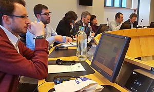 """Erstes Treffen im Projekt """"DIGIT-AL: Digital Transformation and Adult Learning for Active Citizenship"""" in Brüssel"""
