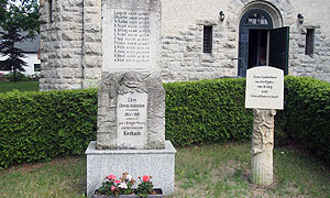 Gedenkstein 1. Weltkrieg, Brandenburg