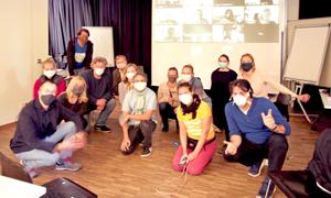 AdB-Kommission Europäische und Internationale Bildungsarbeit tagte hybrid bei der Stiftung WannseeFORUM