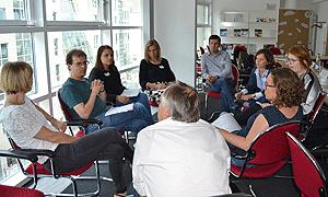 """Diskussion in den Workshops beim ZdT-Fachtag """"Neue Zielgruppe(n)"""""""
