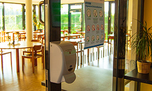 Hygienekonzepte in den Bildungsstätten (hier Jugendbildungsstätte Bremen LidiceHaus)