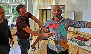 Zusammenfassung der Diskussionen im Spontantheater von João Eduardo Albertini