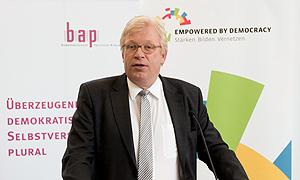 Dr. Ralf Kleindiek, Staatssekretär im BMFSFJ, bei der Auftaktveranstaltung