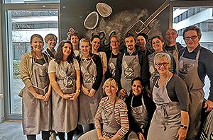 Blick in die AdB-Weihnachtsbäckerei