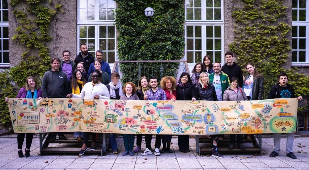 """Workshop """"Citizenship Education"""" in der Jugendbildungsstätte Kurt Löwenstein in Werftpfuhl"""