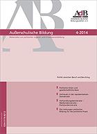 Fachzeitschrift Ausserschulische Bildung Ausgabe 4/2014