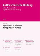 AB 3/2016: Jugendpolitik in Zeiten des demografischen Wandels