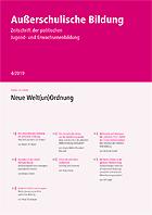 """Zeitschrift """"Außerschulische Bildung"""" Ausgabe 4-2019: Die neue Welt(un)ordnung"""