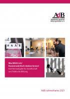 Broschüre zum AdB-Jahresthema 2021