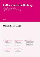 AB 4/2016: (Miss)Verständnis Europa