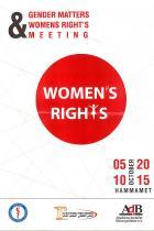 Plakat zur Veranstaltung in Tunesien