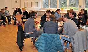 Intensive Arbeitsatmosphäre auf der Zentralen Arbeitstagung der Jugendbildungsreferent/-innen im AdB