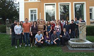 "Die Teilnehmenden des ersten Workshops im Projekt ""Not in our countries?! Refugees, Asylum and Fundamental Rights Education in Youth Work"""