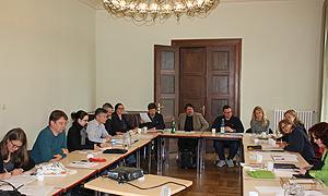 AdB-Kommission Jugendbildung bei ihrer konstituierenden Sitzung im WannseeFORUM