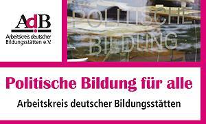 """AdB-Jahresbericht 2015 """"Politische Bildung für alle"""""""