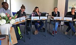 Mitglieder der AdB-Fachkommission Jugendbildung bei der Sitzung in Vlotho