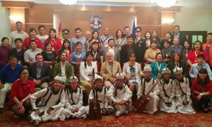 Die Teilnehmenden am mongolisch-deutschen Fachforum