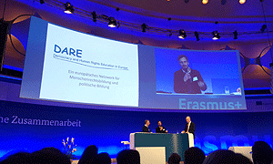 Georg Pirker, AdB, stellt das Europäische Netzwerk DARE vor