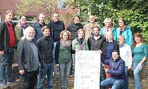 Die Kommissionsmitglieder bei ihrer Herbsttagung