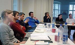AdB-Kommission Europäische und Internationale Bildungsarbeit in der Stiftung Begegnungsstätte Gollwitz