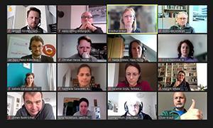AdB-Fachkommission Erwachsenenbildung bei ihrer Online-Frühjahrssitzung 2021
