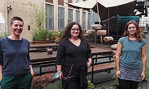 Stefanie Renatus, Jasmin-Marei Christen und Rebecca Arbter (v.l.n.r.). Nicht im Bild: Lydia Birkeneder