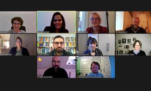 """Der Beirat des Projekts """"Polyphon! Diversität in der politischen Bildung stärken"""" tagte am 23. Oktober 2020 online"""
