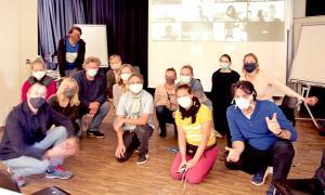 Die Kommission Europäische und Internationale Bildungsarbeit unter Coronabedingungen